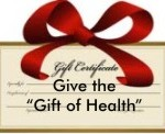 Acupuncture Alternatives offers holiday gift certificates - give the Gift of Health