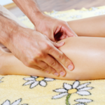 Acupuncture helps leg circulation
