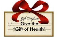 Acupuncture Alternatives is offering holiday gift certificates - give the Gift of Health