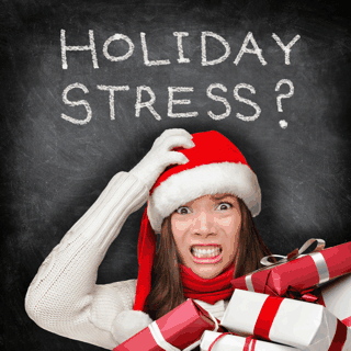 Acupuncture helps with holiday stress
