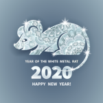 Chinese Year of the White Metal Rat 2020
